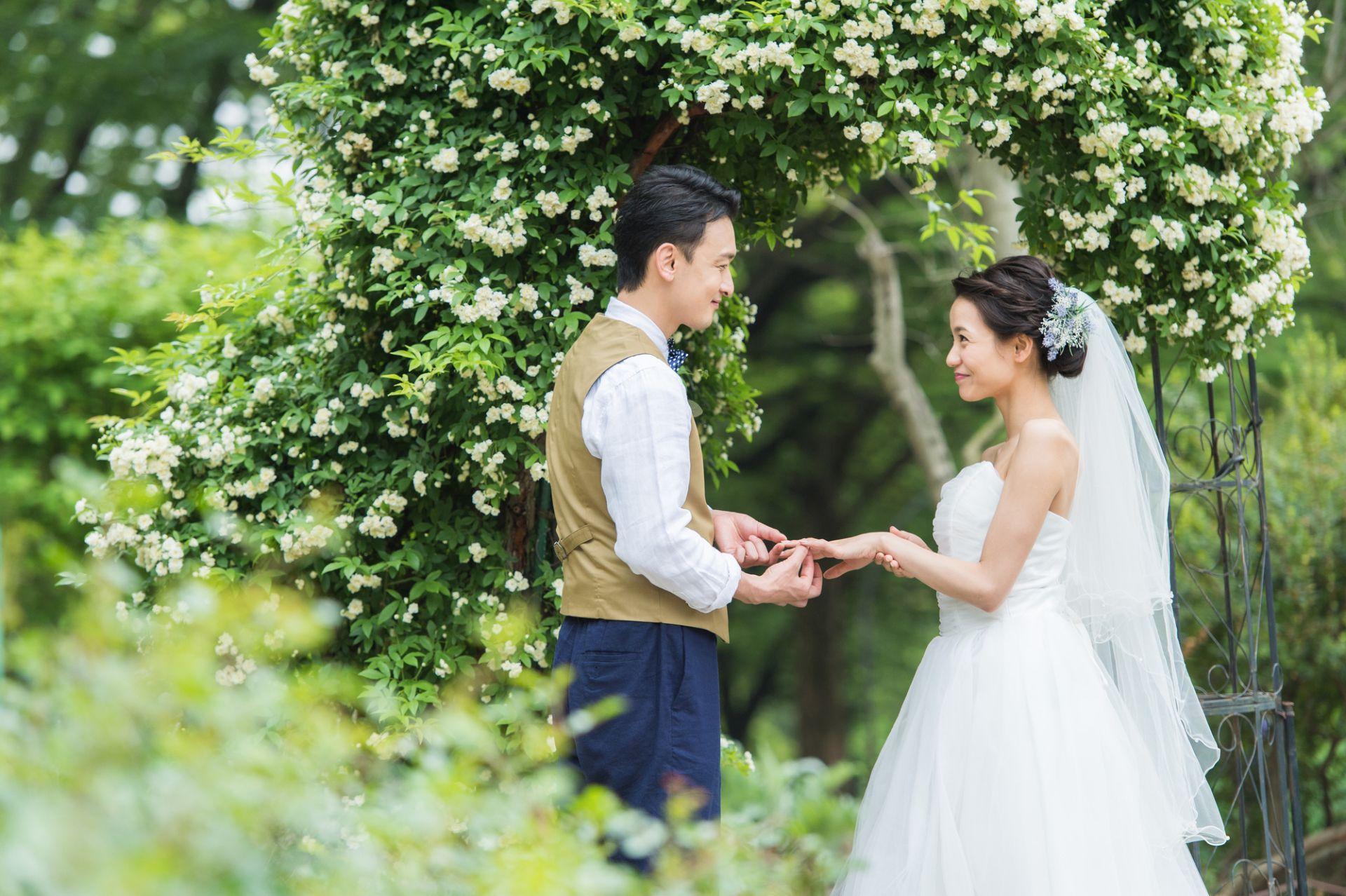 入籍済 結婚式 前撮り