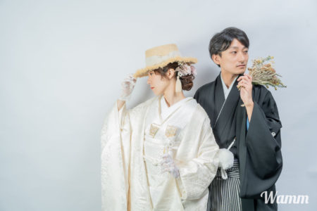 【前撮り用衣装のみレンタルプラン】ドレス・和装 新郎新婦セットで洋装73,700円 和装95,700円(税込)